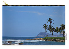 Carry-all Pouch featuring the photograph Island View by Amee Cave