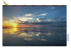 Isle Of Palms Sunrise Reflection Carry-all Pouch