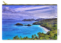 Isle Of Sands Carry-all Pouch by Scott Mahon