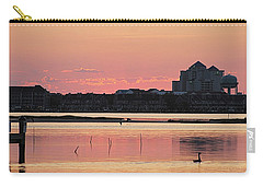 Isle Of Wight Dawn Carry-all Pouch by Robert Banach
