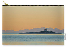 Carry-all Pouch featuring the photograph Islet by Davor Zerjav
