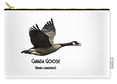 Isolated Canada Goose 2015-1 Carry-all Pouch