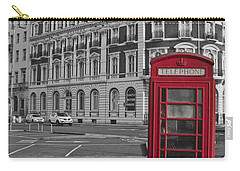 Isolated Phone Box Carry-all Pouch