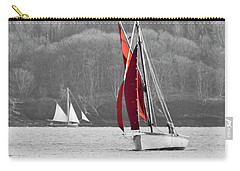 Isolated Yacht Carrick Roads Carry-all Pouch
