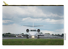 Carry-all Pouch featuring the photograph Israel Aircraft Industries Galaxy 1 by Guy Whiteley