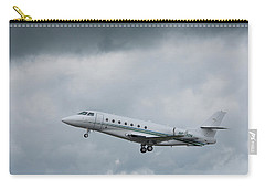 Carry-all Pouch featuring the photograph Israel Aircraft Industries Galaxy 4 by Guy Whiteley