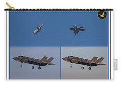 Israeli Air Force First Two F-35i Adir Carry-all Pouch