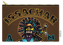 Issachar Aztec Warrior Tsd Carry-all Pouch