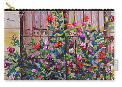 Istanbul Window Carry-all Pouch by Lou Ann Bagnall