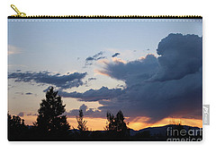 Carry-all Pouch featuring the photograph It Cometh by Marie Neder