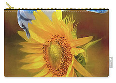 It Is All About The Seeds Carry-all Pouch by Janette Boyd