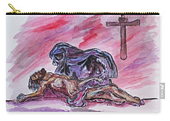It Is Done Carry-all Pouch by Clyde J Kell