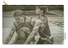 Carry-all Pouch featuring the photograph It Is My Ball by Ronald Santini