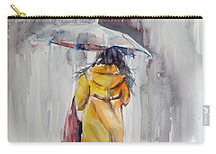 It Is Raining Carry-all Pouch by Kovacs Anna Brigitta