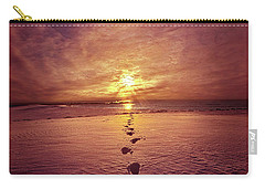 Carry-all Pouch featuring the photograph It Is Then That I Carried You by Phil Koch