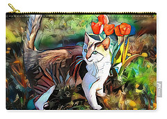 Carry-all Pouch featuring the digital art It Must Be Spring by Pennie McCracken