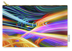 Carry-all Pouch featuring the digital art It Runs Through My Veins by Margie Chapman
