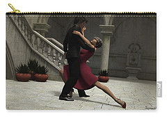 It Takes Two To Tango Carry-all Pouch