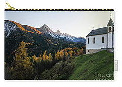 Carry-all Pouch featuring the photograph Italian Alps I by Yuri Santin
