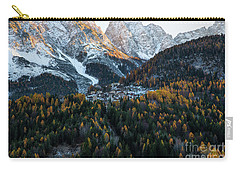 Italian Alps II Carry-all Pouch by Yuri Santin
