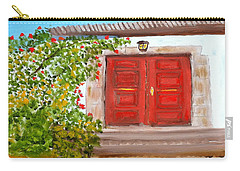 Italian Country Door Entrance Carry-all Pouch