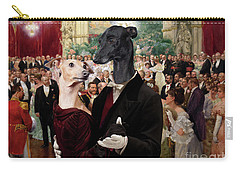 Italian Greyhound Art Canvas Print - Beautiful City Dance Hall Vienna Wilhelm Gause Carry-all Pouch