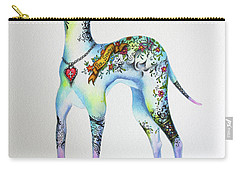 Italian Greyhound Tattoo Dog Carry-all Pouch