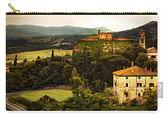 Italian Castle And Landscape Carry-all Pouch