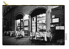 Italian Restaurant In Lucca, Italy Carry-all Pouch