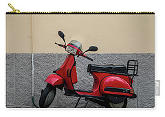 Carry-all Pouch featuring the photograph Italian Transportation by Jean Haynes