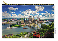 Carry-all Pouch featuring the photograph It's A Beautiful Day In The Neighborhood by Emmanuel Panagiotakis