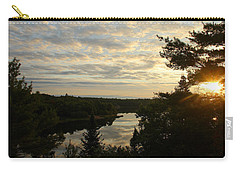 It's A Beautiful Morning Carry-all Pouch by Debbie Oppermann