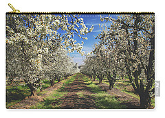 Carry-all Pouch featuring the photograph It's A New Day by Laurie Search