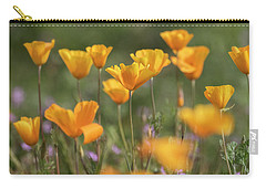 Carry-all Pouch featuring the photograph It's A Poppy Thing  by Saija Lehtonen