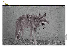 Carry-all Pouch featuring the photograph It's Been A Rough Day by Anne Rodkin