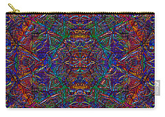 Carry-all Pouch featuring the digital art It's Complicated 2017 by Kathryn Strick