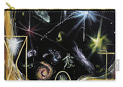 Carry-all Pouch featuring the painting It's Full Of Stars  by Ryan Demaree