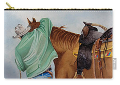 Its Just Us Carry-all Pouch by Jimmy Smith