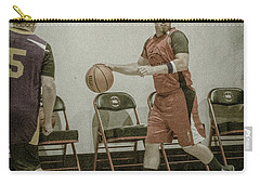 Carry-all Pouch featuring the photograph It's My Ball by Ronald Santini