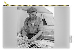 Carry-all Pouch featuring the photograph It's My Job by John Stephens
