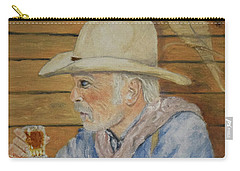 Its Not Dyin Im Talkin About, Its Livin Carry-all Pouch by Belinda Nagy