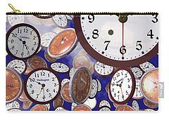 It's Raining Clocks - Washington D. C. Carry-all Pouch