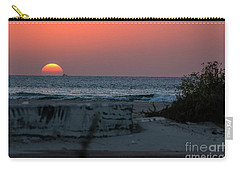 Carry-all Pouch featuring the photograph It's The End Of The Day by Arik Baltinester