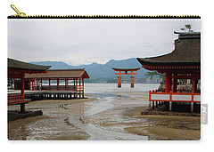 Itsukushima Shrine And Torii Gate Carry-all Pouch