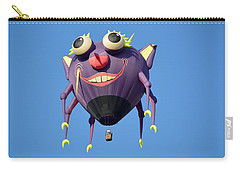 Carry-all Pouch featuring the photograph Itzy Bitzy Spider by AJ Schibig