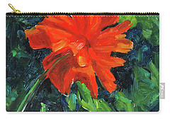 Carry-all Pouch featuring the painting I've Got My Red Dress On by Billie Colson