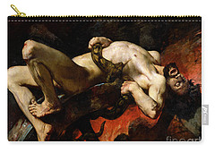 Ixion Thrown Into Hades Carry-all Pouch by Jules Elie Delaunay