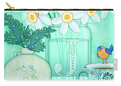 J Is For Jar Of Jonquils Carry-all Pouch