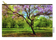 Jacaranda Tree Carry-all Pouch by Joseph Hollingsworth