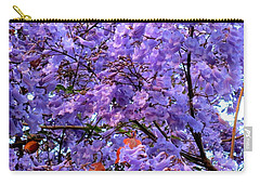 Jacarandas Carry-all Pouch by Randall Weidner